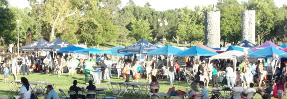 The excitement is mounting for the 7th big year of Celebrate Davis!  Equal parts outdoor fair, business expo, mixer, party, family night, picnic and community celebration – capped off by a fireworks show – it has become the place to be for Davisites in mid- May each year.