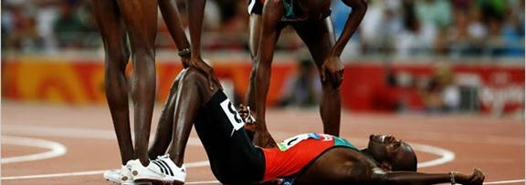 Usain Bolt layed out | The Fittest Blogger