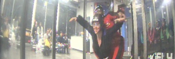 This week, I went skydiving. Well, it was actually indoors. And I was only ten feet above the ground. And it lasted only 60 seconds. But it was still really cool. When I saw a Groupon (an online coupon company) last October for indoor skydiving, my immediate thought was, No way. Too scary and too expensive.