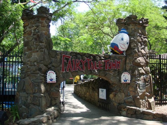 Fairytale Town Front Gate