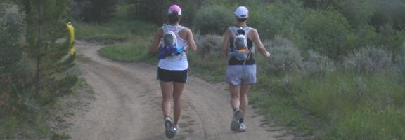 About three weeks ago, two Fleet Feet coaches spent a week running through the Colorado Rockies as participants in the fourth annual Gore-Tex TransRockies Run. Chrissie and Niki completed the 6-day, 120ish mile trail run as one of the W.L. Gore Company's retail teams.