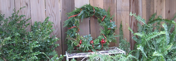 A Wreath from Your Garden