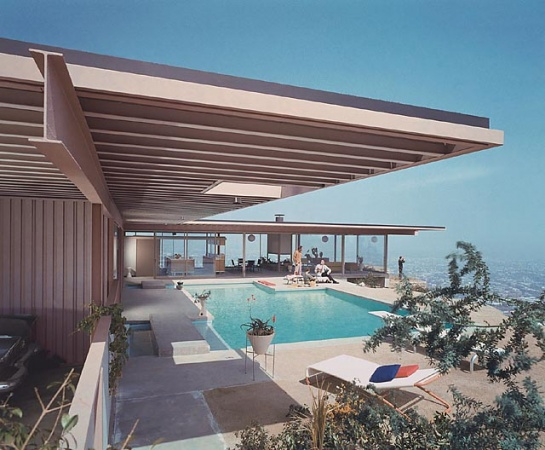 Stahl House Los Angeles Architect Pierre Koenig 1960